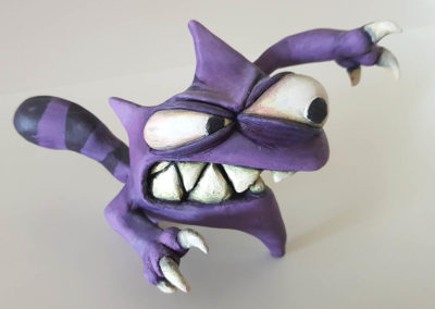 Cat Angry Sculpture